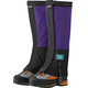 Outdoor Research Unisex Retro Crocodile Gaiters Purple rain/Black